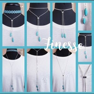 """Finesse 36"""" Slide Necklace"""